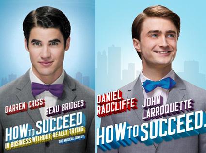 Darren Criss, Daniel Radcliffe, How to Succeed in Business