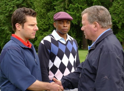 James Roday, Dule Hill, William Shatner, Psych