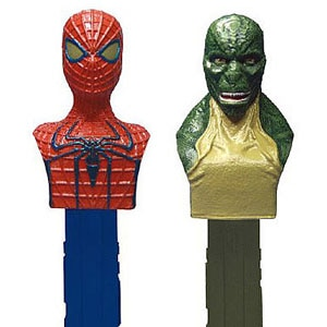 Amazing Spider-Man, Lizard, Pez Dispenser