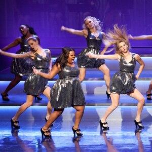 Glee, Amber Riley, Heather Morris