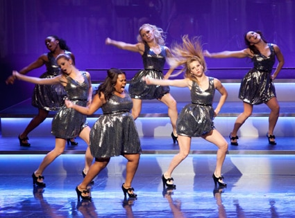 Glee, Amber Riley, Heather Morris