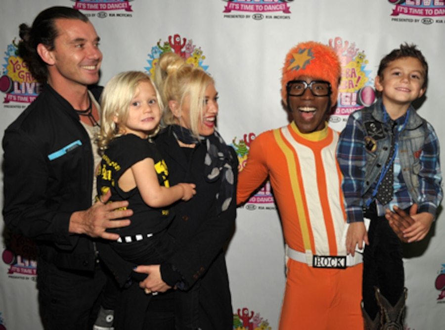 Gwen Stefani, Gavin Rossdale, Zuma, Kingston, DJ Lance Rock