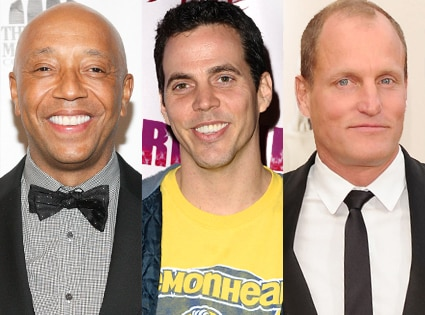 Russell Simmons, Steve-O, Woody Harrelson