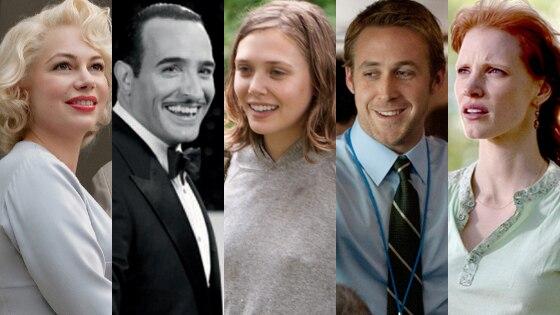 Independent Spirit, Jessica Chastain, Jean Dujardin, Elizabeth Olsen, Ryan Gosling, Michelle Williams