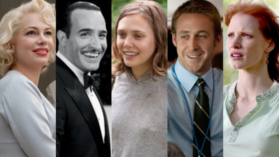 Independent Spirit, Jessica Chastain, Jean Dujardin, Elizabeth Olsen, Ryan Gosling, Michelle Williams