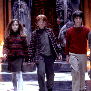 Emma Watson, Rupert Grint, Daniel Radcliffe, Harry Potter Sorcerer's Stone