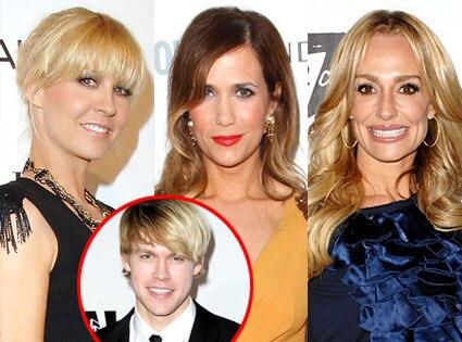Jenna Elfman, Kristen Wiig, Taylor Armstrong, Chord Overstreet
