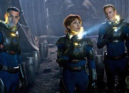 Noomi Rapace, Michael Fassbender, Logan Marshall-Green, Prometheus