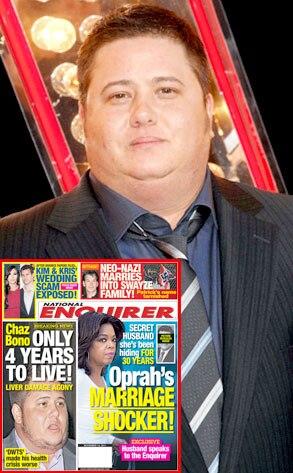 Chaz Bono, Enquirer