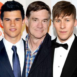 Taylor Lautner, Gus van Sant, Dustin Lance Black