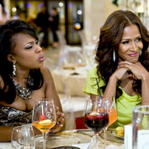 THE REAL HOUSEWIVES OF ATLANTA, Phaedra Parks, Sheree Whitfield