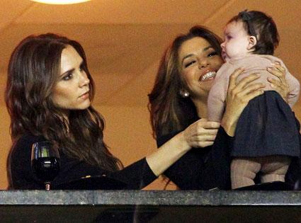 Victoria Beckham, Harper Beckham, Eva Longoria