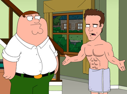 Ryan Reynolds, Family Guy