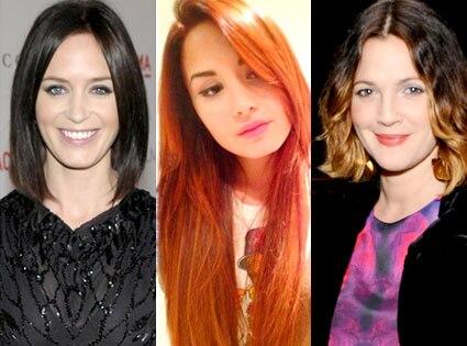 Emily Blunt, Demi Lovato, Drew Barrymore