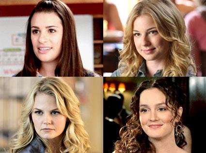 Lea Michele, Emily VanCamp, Jennifer Morrison, Leighton Meester