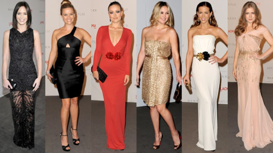 Emily Blunt, Reese Witherspoon, Olivia Wilde, Kate Hudson, Kate Beckinsale, Amy Adams