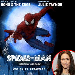 Spider-Man: Turn off the Dark poster, Julie Taymor