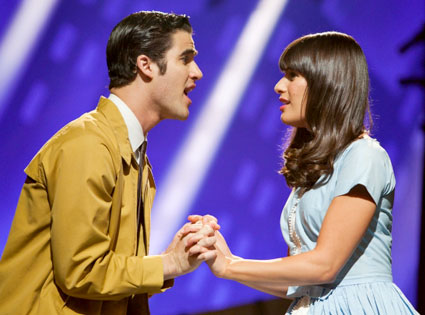 GLEE, Lea Michele, Darren Criss