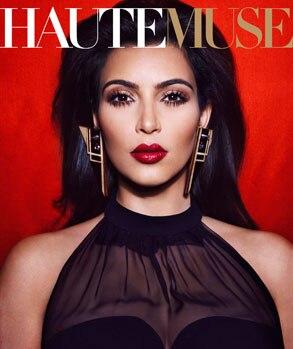 HauteMuse Magazine, Kim Kardashian