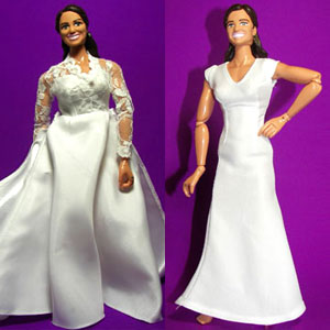Pippa Middleton Doll, Kate Middleton Doll