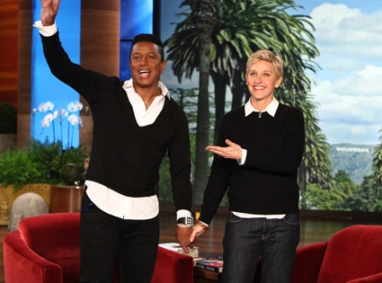 Ellen DeGeneres, JERMAINE JACKSON