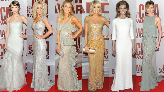 Faith Hill, Kellie Pickler, Taylor Swift, LeAnn Rimes, Carrie Underwood, Jennifer Nettles