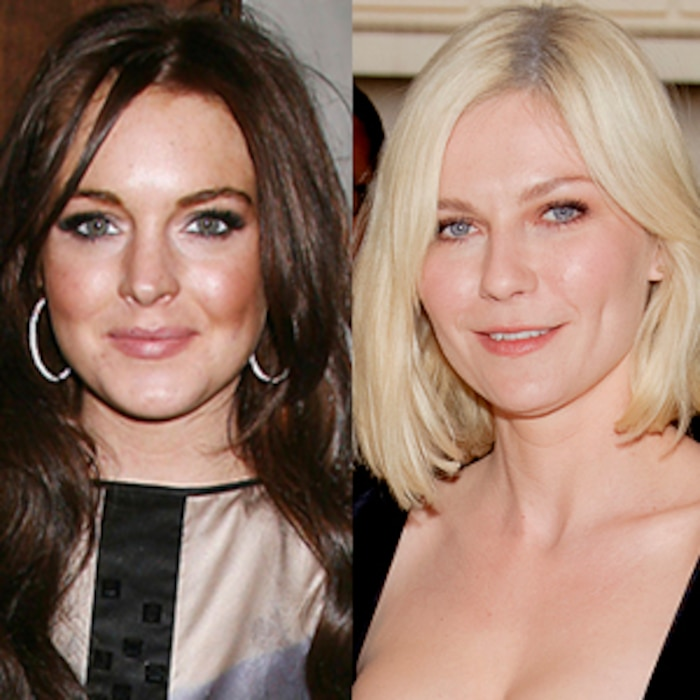 Lindsay Lohan, Kirsten Dunst