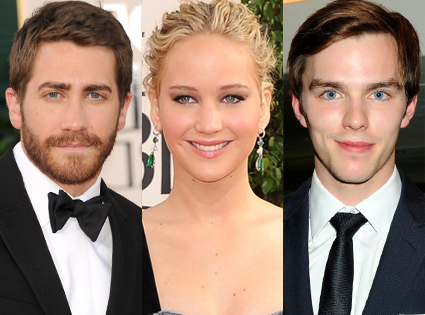 Jake Gyllenhaal, Jennifer Lawrence, Nicolas Hoult