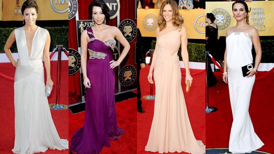 Eva Longoria Parker, Kim Kardashian, Hilary Swank, Natalie Portman