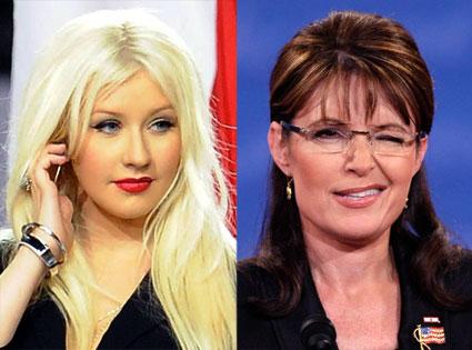 Sarah Palin, Christina Aguilera