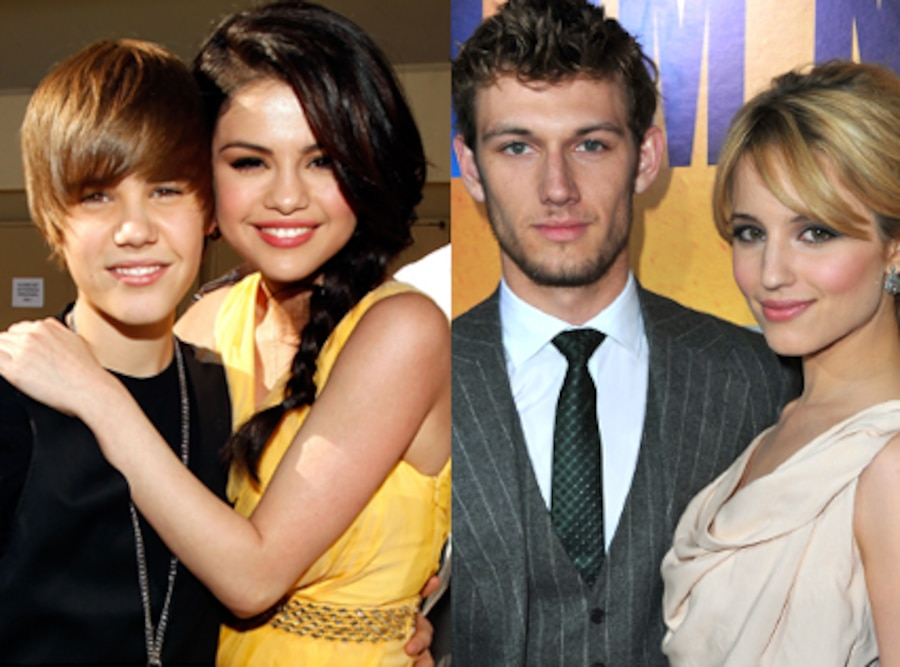 Justin Bieber, Selena Gomez, Alex Pettyfer, Dianna Agron