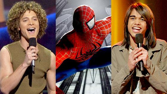 Justin Guarini, Spider-Man, Sanjaya Malakar