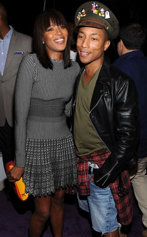 Naomi Campbell, Pharrell Williams