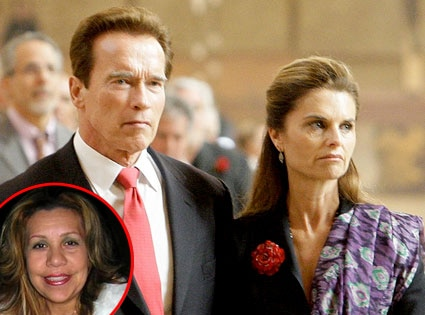 Maria Shriver, Arnold Schwarzenegger, Mildred Patty Baena