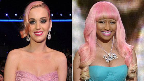 Katy Perry, Nicki Minaj