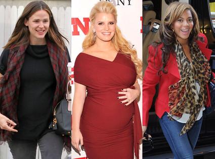 Jessica Simpson, Jennifer Garner, Beyonce