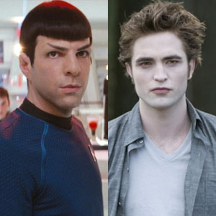 Star Trek, Zachary Quinto, Twilight, Robert Pattinson