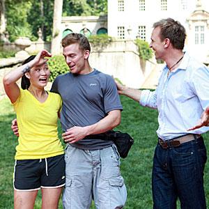 Amazing Race, Cindy, Ernie