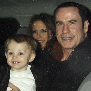 John Travolta, Benjamin Travolta, Kelly Preston