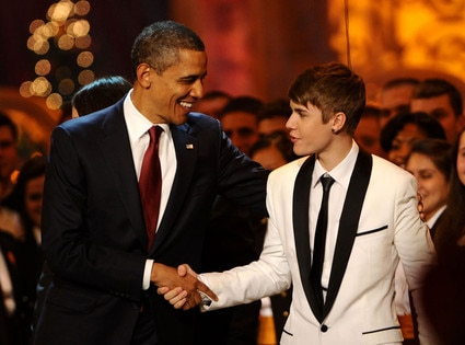 Barack Obama, Justin Bieber