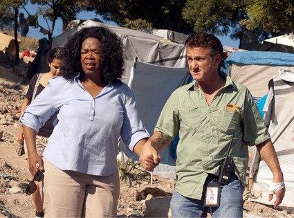 Oprah Winfrey, Sean Penn