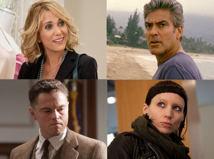 Bridemaids, The Descendants, J. Edgar, The Girl with the Dragon Tattoo