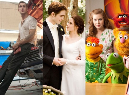 The Muppets, Drive, Breaking Dawn