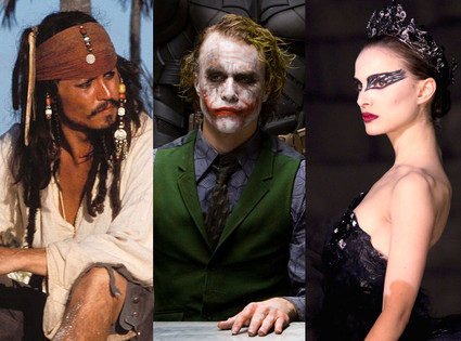 The Dark Knight, Black Swan, PIRATES OF THE CARIBBEAN: THE CURSE OF THE BLACK PEARL