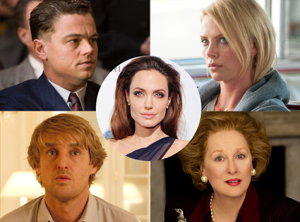 J. Edgar, Young Adult, Midnight in Paris, Iron Lady, Angelina Jolie