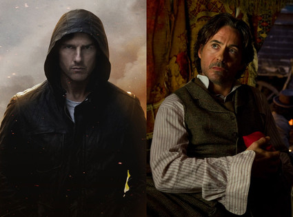 Sherlock Holmes: A Game of Shadows, Mission: Impossible Ghost Protocol