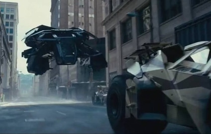 The Dark Knight Rises Screengrabs