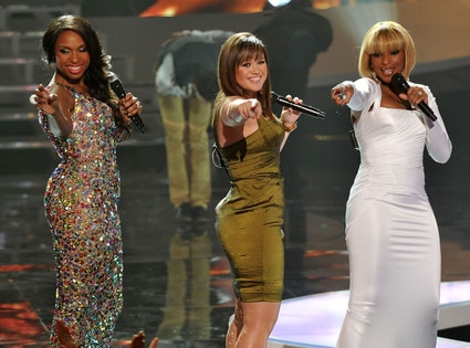 Jennifer Hudson, Kelly Clarkson, Mary J Blige