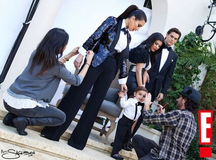 Kim Kardashian, Kourtney Kardashian, Mason Disick, Scott Disick