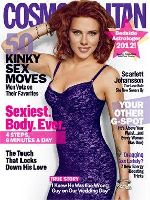 Scarlett Johansson, Cosmopolitan